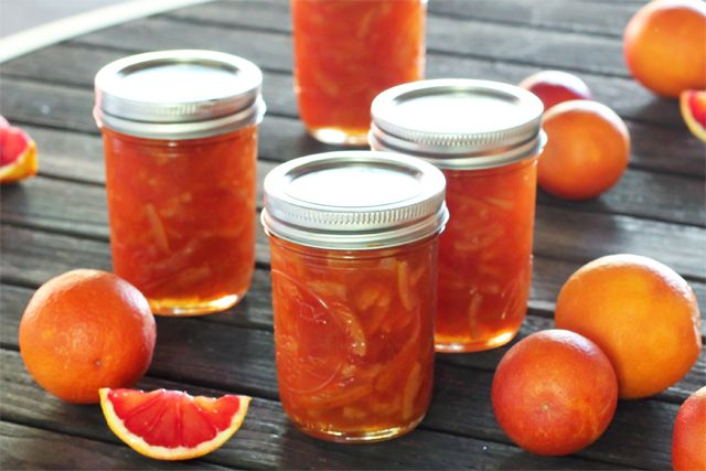 Blood Orange Marmalade @Brandon Matzek