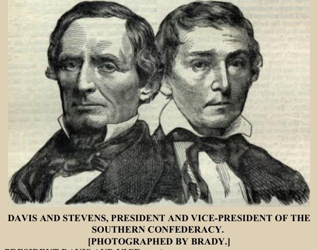 jefferson davis is elected president of the confederacy
