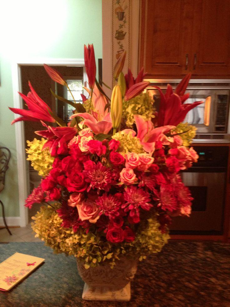 Fall floral arrangement florals fall thanksgiving Fall floral arrangements