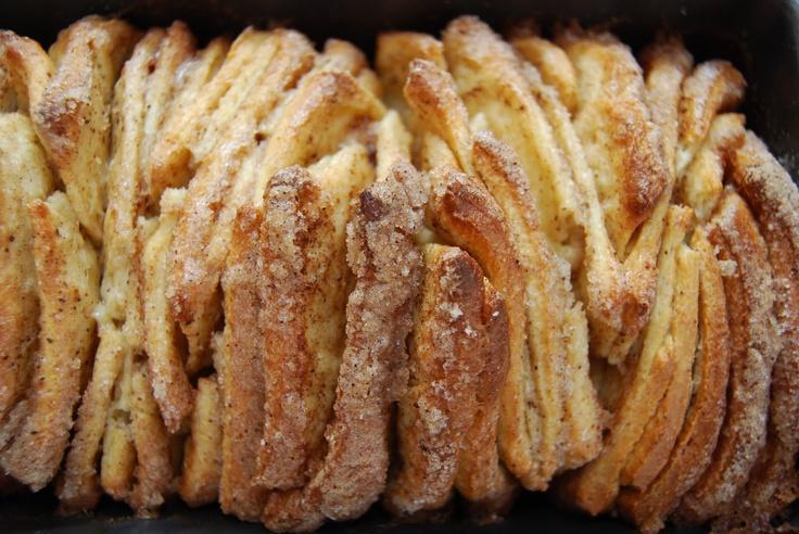 Pull Apart Cinnamon Sugar Bread | want to recipes | Pinterest