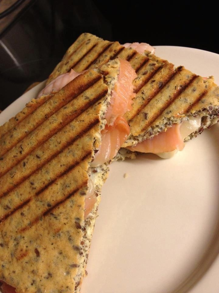 Sandwich with Salmon | Green Recipes 'GoK' | Pinterest