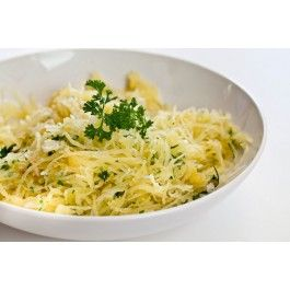 Baked Spaghetti Squash with Parmigiano-Reggiano and Organic Extra ...