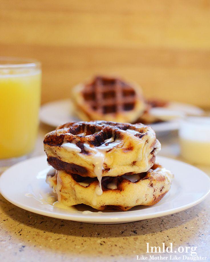 Easy Waffle Cinnamon Rolls | Recipe