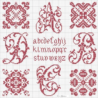 Free Cross Stitch patterns (in Italian)