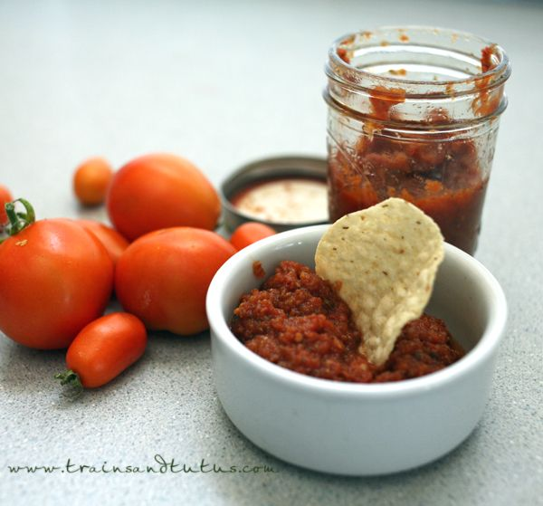 Canning Spicy Tomato Salsa | canning | Pinterest