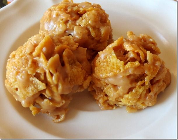 No-Bake Peanut Butter Cornflake Cookies. I have made these for years ...