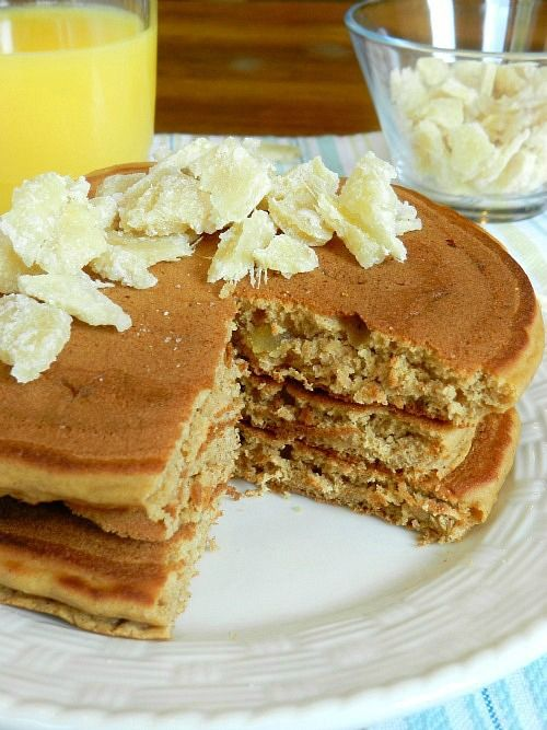 gingerbread pancakes | Cook - Breakfast | Pinterest
