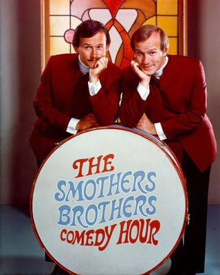 The Smothers Brothers, one of my favorite TV shows back then.