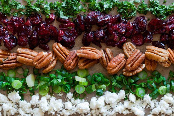 Wheat salad | Vegetarian Cooking Things | Pinterest