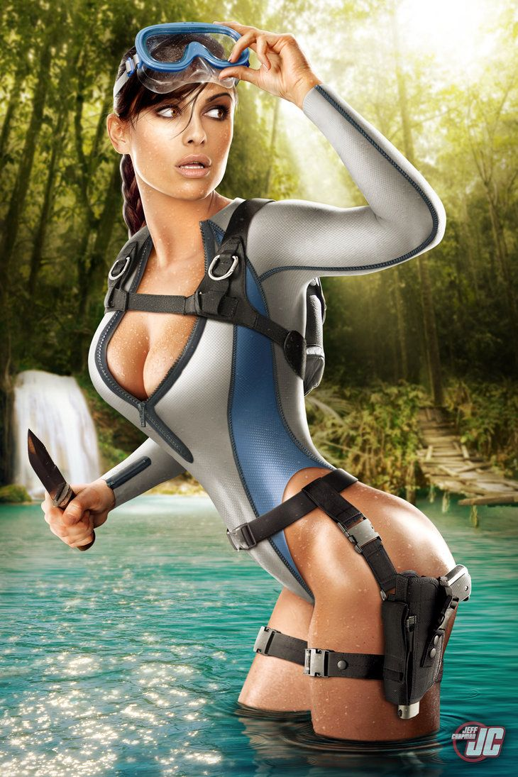 Tomb raider hot pics cartoon vintage babe