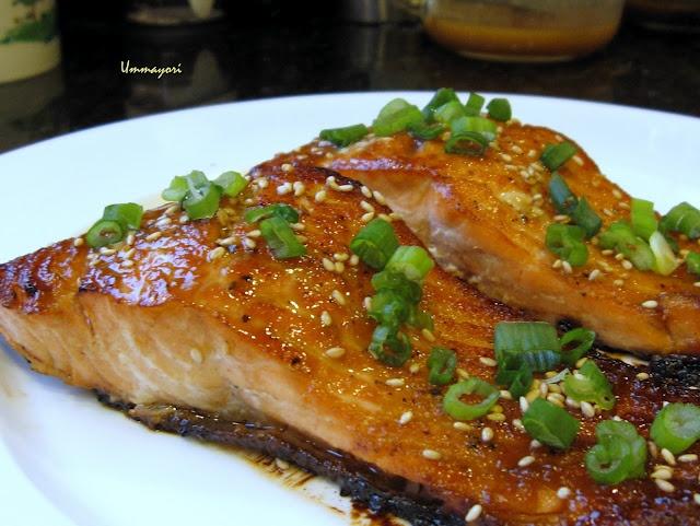 Miso Glazed Salmon Recipe — Dishmaps