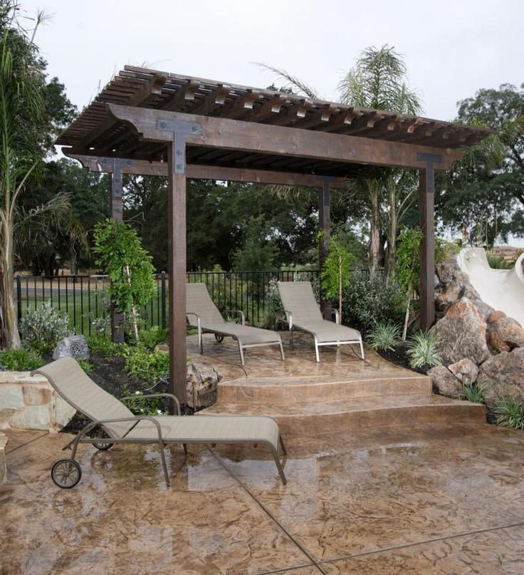 Backyard Pergola Design Ideas : backyard designs