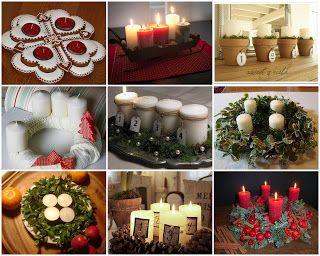 Advent wreath fairyviolet pinterest