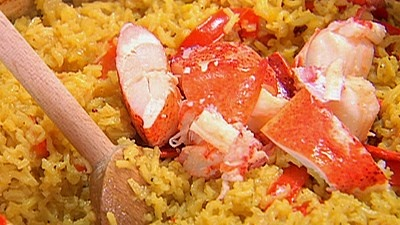 Lobster paella from the barefoot contessa this looked so good when