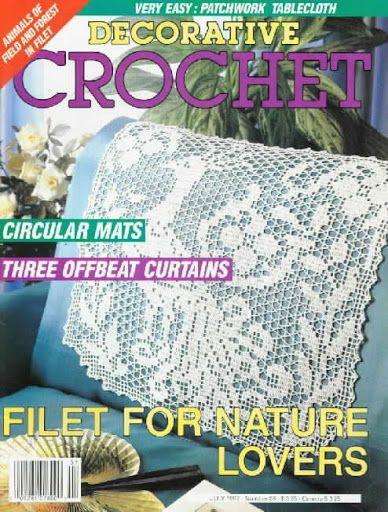 Magazine De Crochet : Decorative Crochet Magazines 20 - Gitte Andersen - ?lbuns da web do ...
