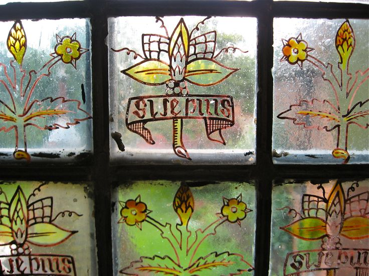 Arts And Crafts Stained Glass Doors
