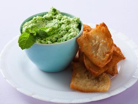 Pea and Silken Tofu Dip | Recipe