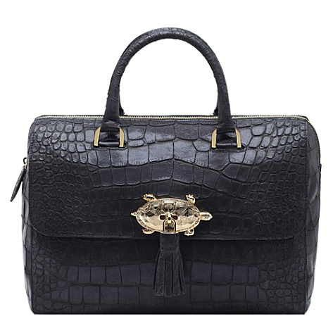 MULBERRY Del Rey sparkle croc-print bag | Accessories | Pinterest