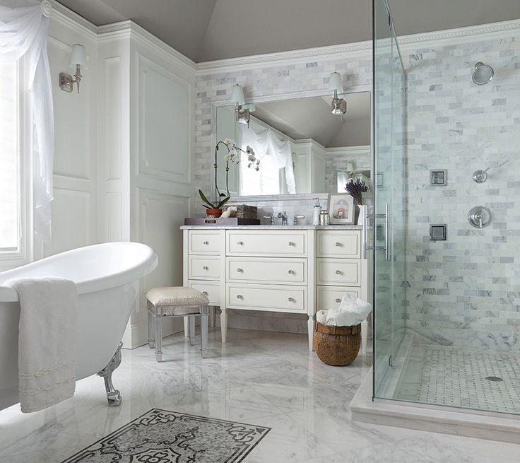 All White Bathroom The Elegant Abode For The Home