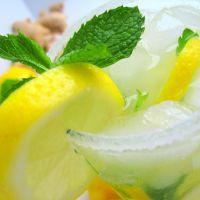 Sparkling Ginger Mint Lemonade | It's 5 O'Clock Somewhere | Pinterest