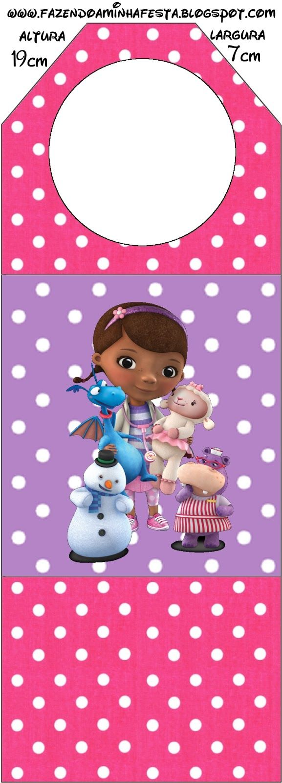 Doc Mcstuffins printables | Birthday Party Ideas | Pinterest
