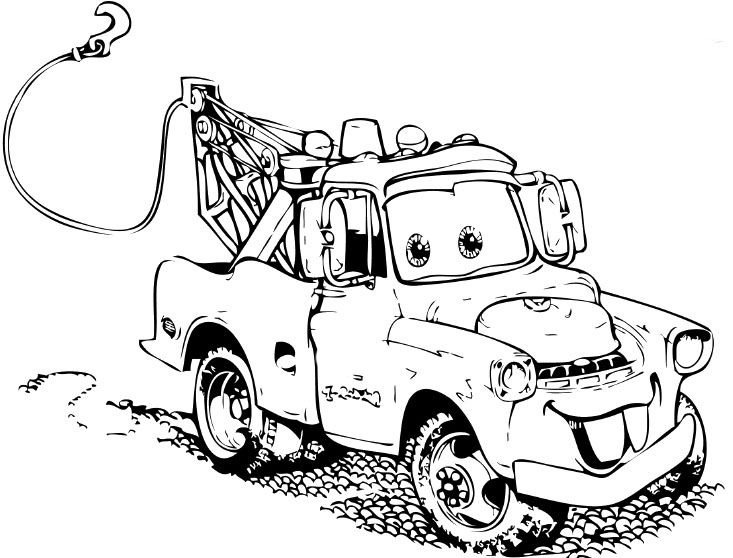 tokyo mater cars coloring pages coloring pages
