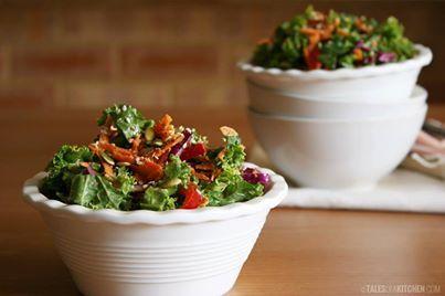Kale Salad With Quick-Pickled Watermelon Radish Recipes — Dishmaps