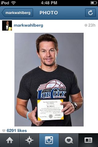 Pin by Jenny Chow on Mark Wahlberg and Donnie Wahlberg ... Mark Wahlberg Instagram