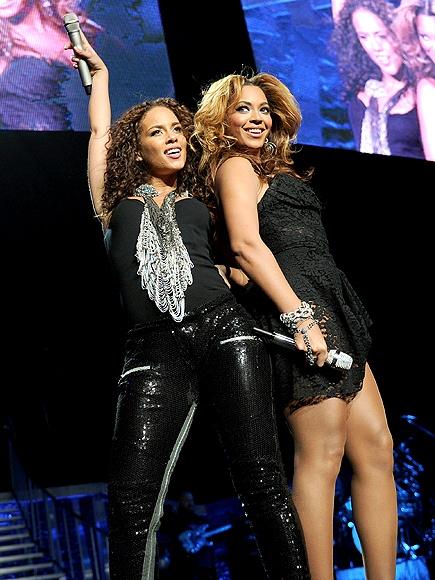 Alicia Keys And Beyonce