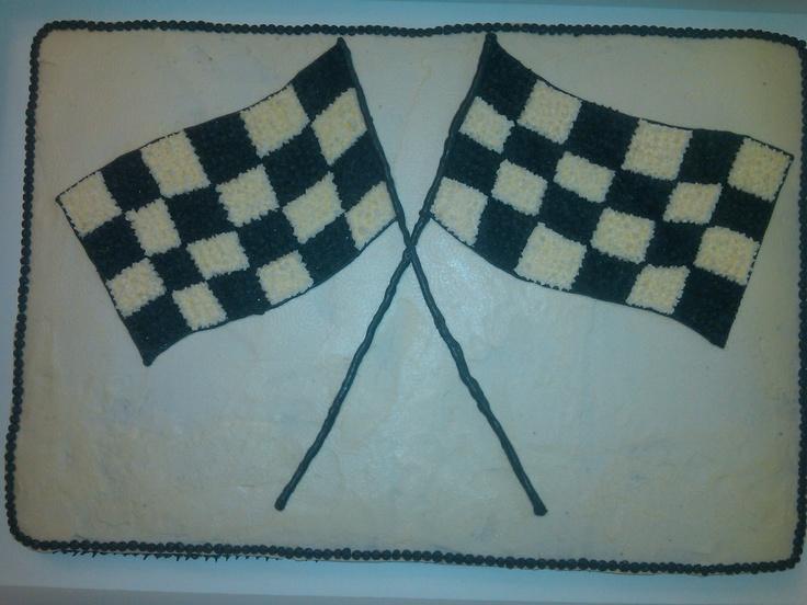 Cake Decorating Checkered Flag : Checkered Flag Cake Cake Ideas and Designs