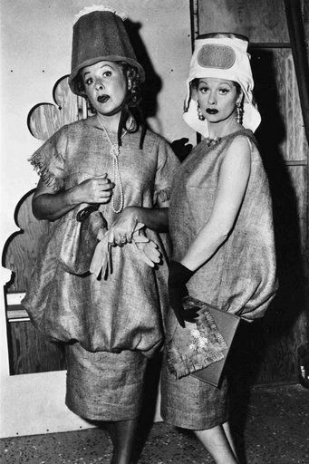 Lucy And Ethel 39 S Potato Sack Dresses Classics Pinterest