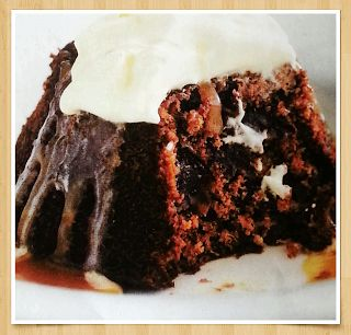 Cottage Pudding With Brandy Caramel Sauce Recipe — Dishmaps