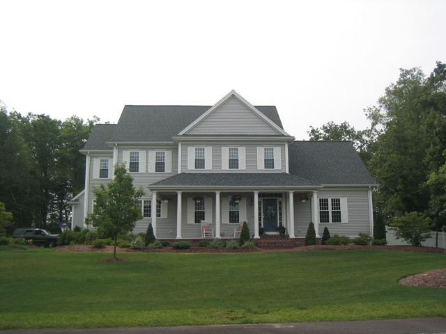 Colonial With Farmer 39 S Porch Custom Builds Pinterest