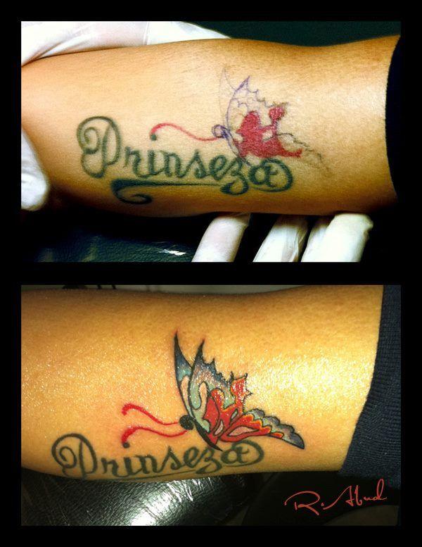 Princess tattoo retouch | Rhy Tattoo Worx | Pinterest
