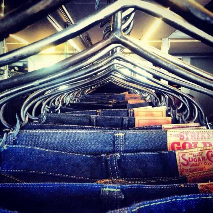 The only place to get your Japanese denim fix in San Francisco. Iron