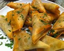 Somali Potato and Pea Sambusa | Favorite Recipes | Pinterest