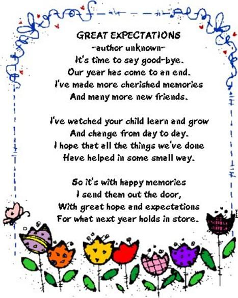 Friendship Quotes For Kindergarten : Inspirational quotes great expectations quotesgram