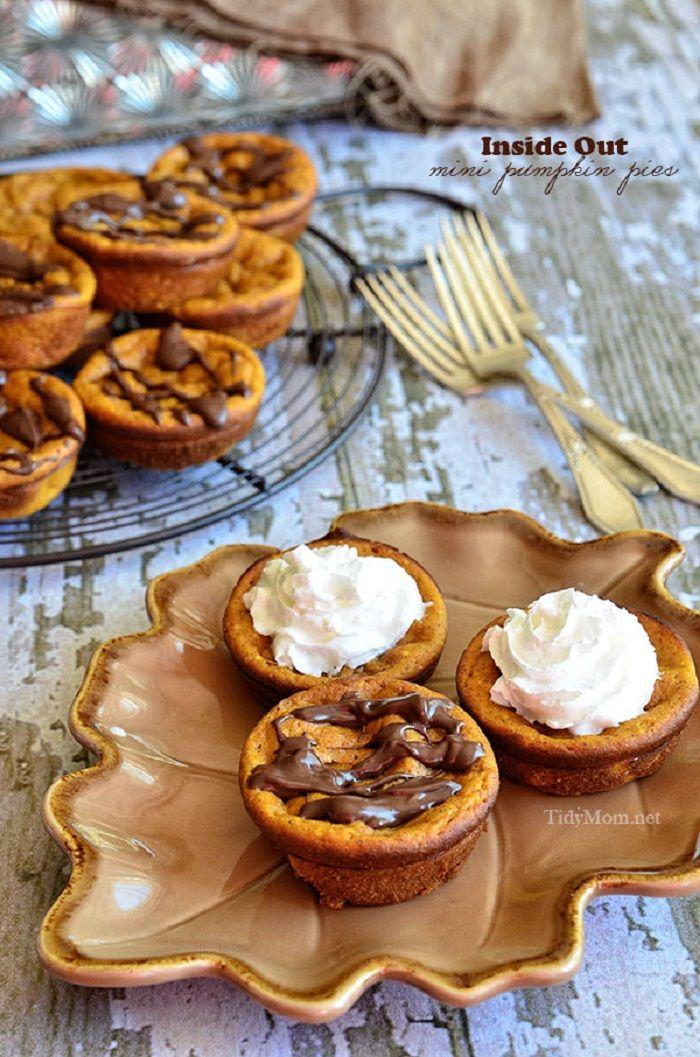 "Pies"", 17 different mini ideas, lemon meringue pie, chicken pot pie ..."