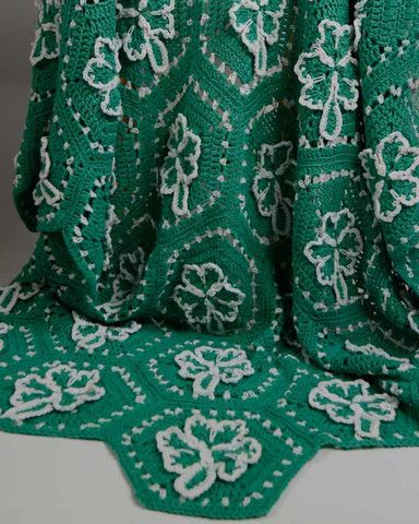 CLOVER CROCHET FOUR LEAF PATTERN - Online Crochet Patterns