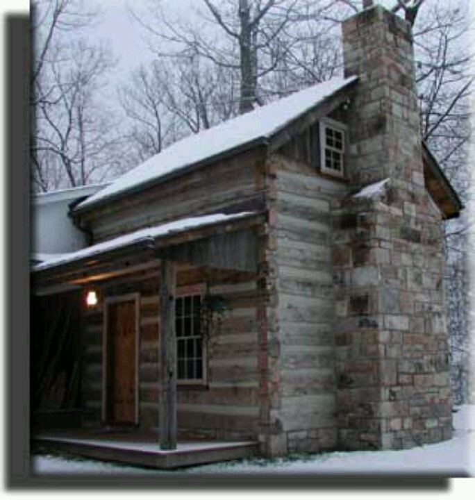 Pin by clifford mccoy on old vanishing buildings for Square log cabin