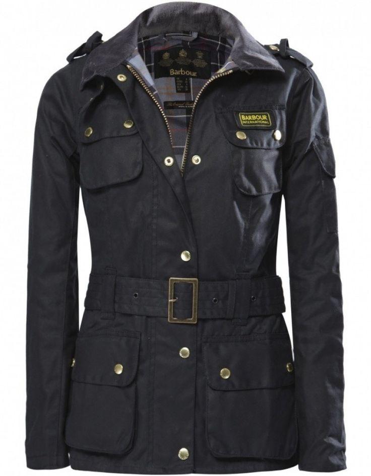 Women's Barbour International Waxed Jacket | JULES B