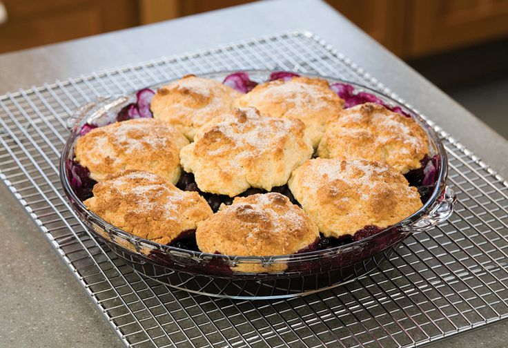 secrets to blueberry cobbler / america's test kitchen