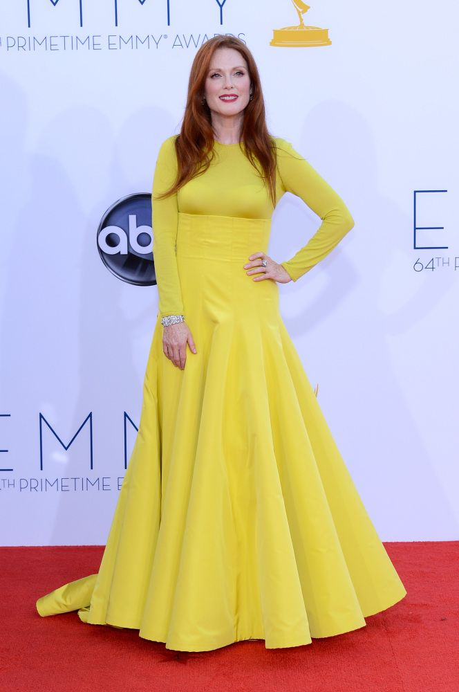 Julianne Moore // Christian Dior Couture // Emmys 2012