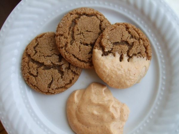 Pumpkin Gingersnap Cookies Recipe — Dishmaps