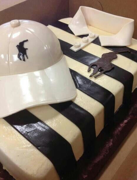 ralph lauren polo birthday cakes