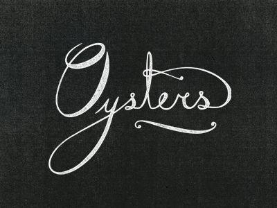 Island Creek Oysters by Jennifer Lucey-Brzoza