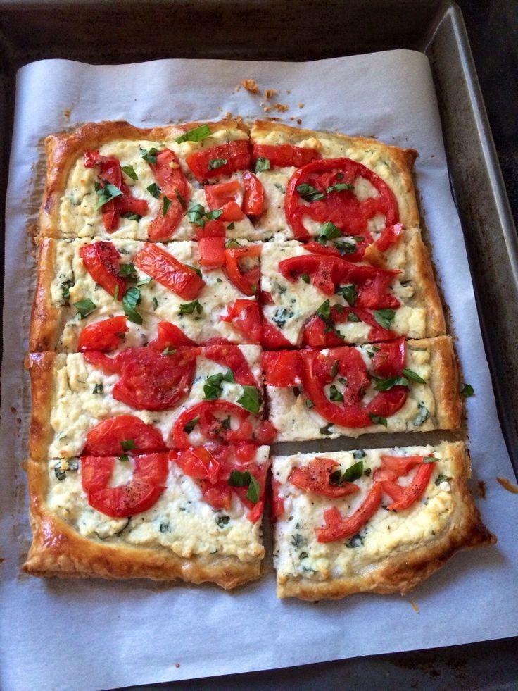 and basil three cheese tomato tart french tomato tart easy tomato tart ...