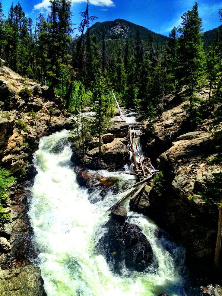 Adams falls grand lake colorado places we want to go for Grand lake colorado fishing