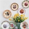 Des assiettes comme des cadres photos - Marie Claire Idées