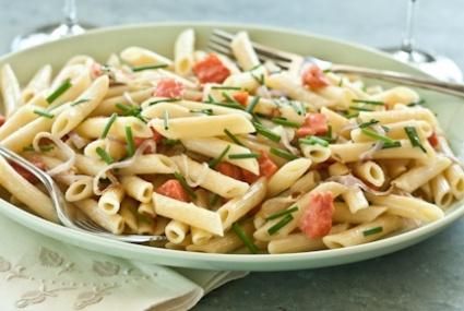 Smoked Salmon and Crème Fraîche Lemon Pasta | Whole Foods Market